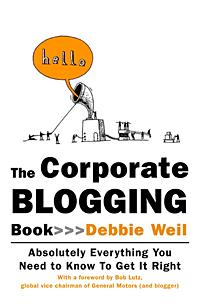 The Corporate Blogging Book